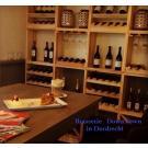 Ook met en paar elementen van wijnwand Kabinett creeert u een leuke sfeer.