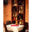 Wijnopslagsysteem Kabinett is creatief in te zetten in elk restaurant.